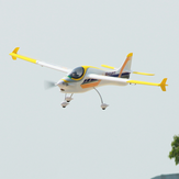 Dynam Smart Trainer V2 1500mm Wingspan EPO 3D Aerobatic RC Airplane Trainer Beginner PNP With Upgraded Power System
