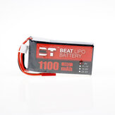 BT BEAT 7.4V 1100mAh 35C 2S Lipo Battery JST Plug for RC Racing Drone