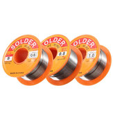 50g 0.5/0.6/0.8/1.0mm 63/37 FLUX 2.0% 45FT Tin Lead Tin Wire Melt Rosin Core Solder Soldering Wire Roll