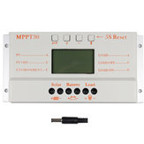 MPPT30 30A 12V/24V Auto Switch LCD Display Solar Charge Controller Regulator