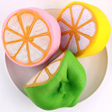 SanQi Elan Squishy Jumbo Limão 11cm Lento Rising Embalagem Original Fruit Collection Decor Gift Toy