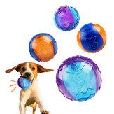 Brinquedo da mastigação do cão bola interativa formação do cão moagem inflável dentes bola para jogos ao ar livre em casa de xiaomi youpin