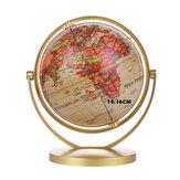Mapa do globo do mundo 360 ° rotação do globo do mundo mapa da terra geografia educação brinquedo decoração de casa ornamento do escritório caçoa o presente