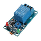 Photosensitive Resistance Sensor With Relay Module 5V Optical Control Switch Light Detection Switch