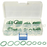 105 Pcs 8 Size HNBR Green Car Air Condition O Rings Seal Seal Ring Gaskets Repair Tool Kit Box