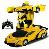 Rastar 2 In 1 Rc Car Sports Wireless Robot Models Deformation Fighting Kids Children Toys
