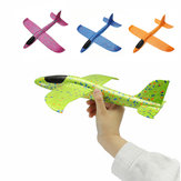 4PCS 35cm Big Size Hand Launch Throwing Aircraft Airplane Glider DIY Inertial Foam EPP Plane Toy
