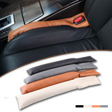 Interior Almofada Do Assento de Carro Gap Filler Spacer Almofada Estofamento Protetor À Prova De Fugas de Couro Tira Acessórios