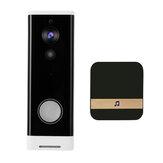 WiFi Video Doorbell 1080P 166° Wireless Video Smart Doorbell Security Home Door Bell Ring
