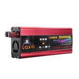 DOXIN® omvormer 4000W piek gemodificeerde sinusomvormer DC 12V / 24V naar AC 220V USB-stekkerpoort