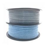 CCTREE® 1.75mm 1KG Glitter Silver / Blue PLA Filament για τρισδιάστατο εκτυπωτή