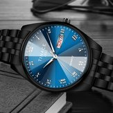 TINACE Men Luminous Display Day Week Display Quartz Watch