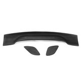 Dumb Black Universal Light Vægt GT Bagklap Car Spoiler Wing