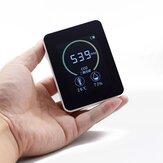 K02 Detector de Qualidade do Ar Doméstico Medidor de CO2 Multifuncional C02 Testador de Temperatura e Umidade LCD Display com Luz de Fundo