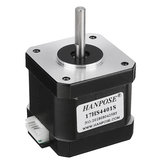 HANPOSE 17HS4401-S 40mm Nema 17 Stepper Motor 42 Motor 42BYGH 1.7A 40N.cm 4-lead Motor for 3D printer CNC Laser