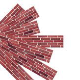 7 PCS / مجموعة 3D ملصقات الحائط الشارات ذاتية اللصق ضد للماء لوحات للجدران
