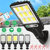 الجدار الشمسي LED ضوء 3 أوضاع الحركة المستشعر ضوء مراقبة IP65 ضد للماء Yard Garden Park Lamp
