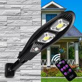 Mur de réverbère solaire COB LED Capteur extérieur alimenté par mouvement PIR Jardin extérieur