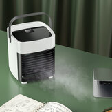 Ultra-Quiet Portable USB Air Conditioning Fan Bedroom Living Room Office Travel Water Cooling Three Wind Power