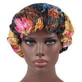 Kadın Vintage Etnik Çiçek Nefes Bere Cap Türban
