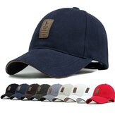 Unisex Män Kvinnor Cotton Blend Baseball Cap Hip-Hop Justerbar Snapback Golf Outdooors Hat