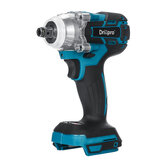 Drillpro 18V Cordless Brushless Impact Wrench Obeng Stepless Speed Change Switch Diadaptasi Ke baterai 18V Makita