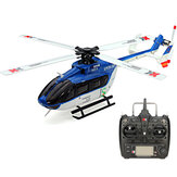XK K124 6CH Brushless EC145 3D6G System RC Helicopter RTF