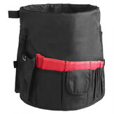42 Storage Pockets Garden Work Tool Bag For 5 Gallon Bucket Organizer Holder