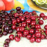 20pcs espuma frutas cereja festa em casa molde aprendizagem adereços de decoração da cozinha
