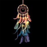 Dream Catcher Decorazioni murali tonde vuote rotonde per camera da letto del Dreamcatcher