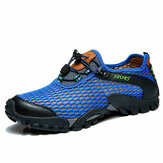 Men Mesh Anti Collision Toe Senderismo Escalada al aire libre Athletic Shoes