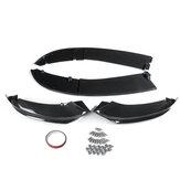 Car Universal Carbon Fiber Look Carbon Fiber Look Front Bumper Splitter Lip Body Kits For BMW 4 Series