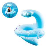 Blue Whale Childen Swimming Inflatable Ring Float Seat Chair Water Pool Toy Safer Swims Accessories