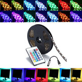 0.5 / 1/2/3/4 / 5M SMD5050 RGB Taśma LED Bar Zestaw Backlilghting Bar + Pilot USB DC5V