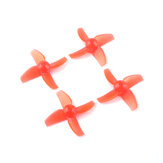 2 Pairs Eachine TRASHCAN 75mm FPV Balap Drone Spare Part 40mm 4-pisau CW CCW Propeller