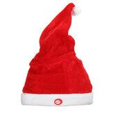 Creativo Soft Cappello di Babbo Natale regolabile in formato musicale elettrico