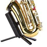 Acessórios de instrumentos portáteis dobráveis para instrumentos de suporte de tripé de saxofone alto tenor