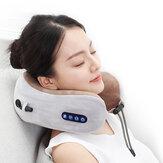 Elettrico Collo Massaggiatore Cuscino a forma di U Massaggiatore cervicale portatile multifunzionale per spalla Massaggio rilassante per auto da esterno