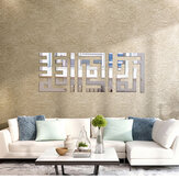 3D Acrylic Mirror Wall Stickers Vinyl Decals Home Living Room Environmentally Friendly Remove Wall Stickers Decor
