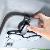 ROCK Car Óculos Caso Visor de sol automotivo Óculos Suporte de óculos de sol Clip Suporte de cartão Acessórios de óculos para veículos Acessórios de automóveis