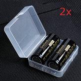 4szt.Sofirn3,7V5000 mAh chroniony akumulator 26650 z pojemnikiem do przechowywania Bateria litowa o dużej pojemności Li-ion akumulatory