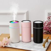 320ml Humidifier USB Ultrasonic Aroma Diffuser Mist Maker Fogger with Colorful Lights for Home Car Office
