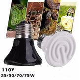 Diâmetro 110v 60 milímetros pet emissor de cerâmica aquecida aparelhos réptil 25w / 50w / 75w / 100w