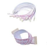 10 stks DIY Micro Mini PH2.0mm 2PIN / 3PIN / 4PIN / 5PIN / 6PIN Enkele / Dubbele JST Connector Terminal Plug Kabel Draad 20 CM voor RC Model Batterij