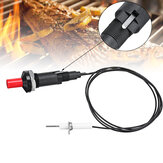 BBQ Piezo Ignitor Starter Universal Button Ignition Two Modes Camping Kitchen Gas Grill Lighter