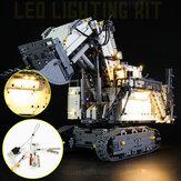 Kit de luz de iluminação LED DIY para escavadeira LEGO 42100 Technic R 9800