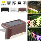 Intelligent Light-Control LED Solar Deck Step Stair Lawn Light Outdoor Yard Lamp for Garden