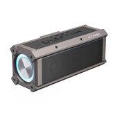 BlitzWolf® BW-WA3 100W bluetooth Alto-falante Alto-falante portátil Quad Drivers Dual Diafragma Deep Bass RGB Light TWS 5000mAh Alto-falante sem fio ao ar livre