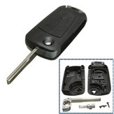 3 Buttons Remote Flip Key Fob For Vauxhall/OPEL Astra Vectra Zafira No Battery