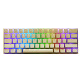 108 Keys White Pudding Keycap Set OEM Keycap PBT Translucent Keycaps للوحة المفاتيح الميكانيكية